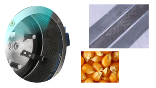 Self-priming Grain Crusher