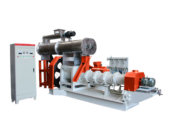 Stainless Steel Double Screw Fish Feed Extruder