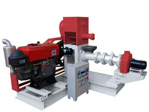 diesel fish feed machine