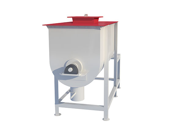 horizontal or vertical feed mixer
