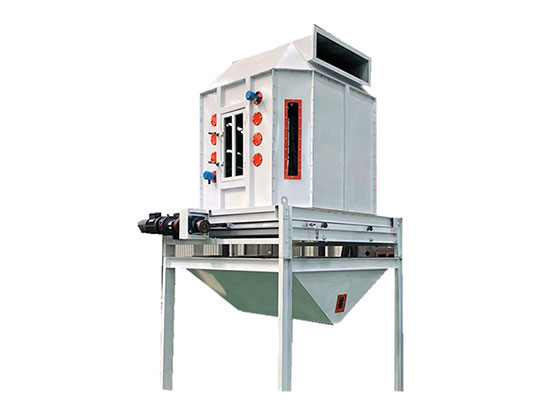 Feed Pellet Cooler with Counterflow Principe