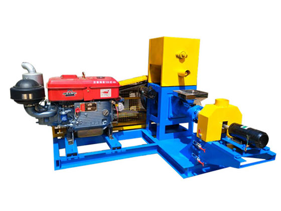Diesel Type Floating Fish Feed Pellet Machine