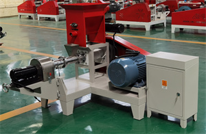 Animal poultry cattle chicken fish feed pellet making machine floating for livestock feed