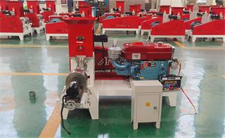 Diesel engine  fish feed making machine