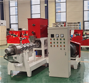 Feed production manufacturing machine price dry type pet dog food fish feed pellet making extruder machine for sale
