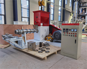 Fish Feed Food Extruder processing machine plant