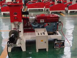 diesel power fish feed extruder