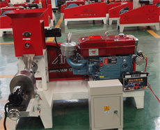 diesel power fish feed machine for sale