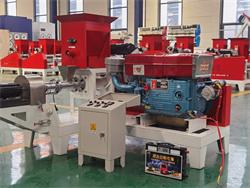 diesel type fish feed making machine