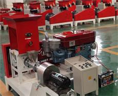 diesel type floating fish feed machine