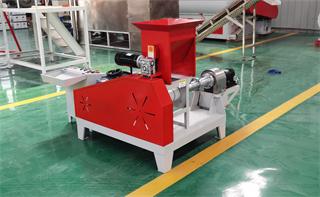 motor fish feed making machine
