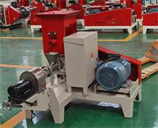 motor fish feed pelleting machine