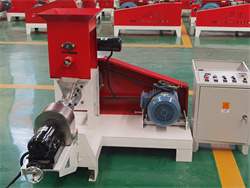 motor power fish feed extruder for sale