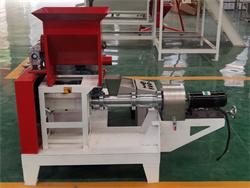 motor power fish feed machine