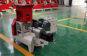motor type Factory Price Floating Fish Feed Pellet Making Extruder Machine