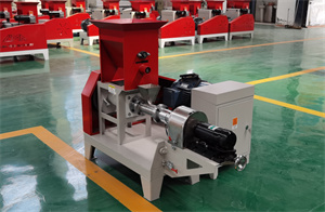 motor type Feed Pellet Making Farm Machinery Fish Extruder Pet Food Floating Fish Feed Processing Machines