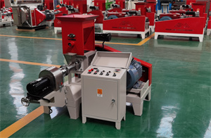 motor type  Floating Fish Feed Pellet Extruder Agricultural Animal Pellet Making Processing Machine