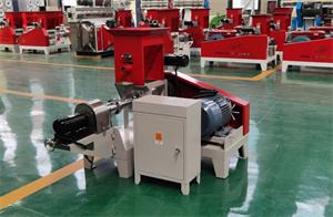 motor type Hot sell automatic floating fish feed pellet making machine with best price