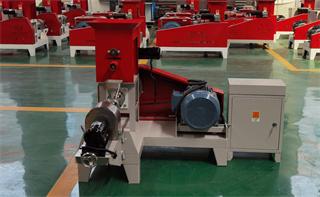 motor type fish feed machine