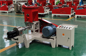 motor type other food processing machinery extruder for pet food floating fish feed pellet making machine