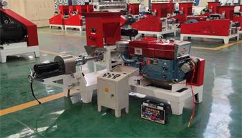 Big capacity floating fish pellet making machine floating fish machinery feed processing machines