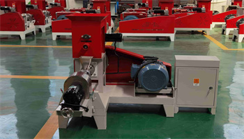 Fish Feed Food Extruder Producing Machine Plant