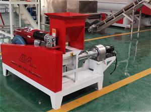 Floating Fish Feed Making Machine Extruder Fish Bait Production Line