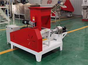 High quality durable floating fish chicken feed pellet making machine