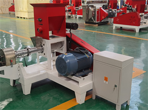 chicken livestock goat animal poultry extruder feed pellet making machine