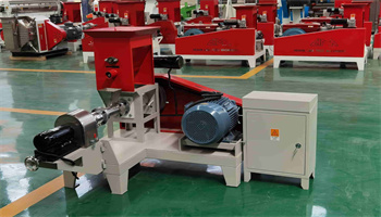 floating twin screw fish feed plant extruder machine floating fish feed pellet production line making machine