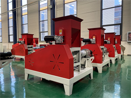 Factory direct fish feed pellet making machine food price