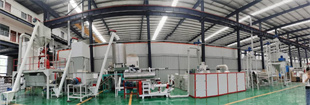home use 320-350kgh fish feed production line floating fish food pellet mill